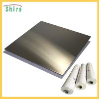 China Metal Wire Drawing Board Pvc Cling Film , Self Adhesive Pvc Film Roll Anti Dust wholesale