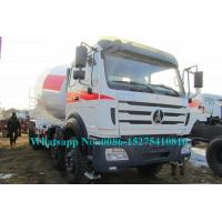 China North Benz NG80B 2638P 8x4 40Ton 380hp 16 18 cbm Concrete Mixer Truck for Concrete Batching plant on sale