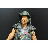 Camouflage Soldier Action Figures , Army Action Figures With Screaming Face