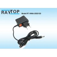 China 50Hz / 60Hz EU Plug 5V 1000mA Ac To Dc Power Adapter With 1.2M DC Cable wholesale