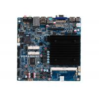 China Dual Gigabit LAN fanless industrial Motherboard with COM , USB3.0 , Mini-Itx Mainboard wholesale