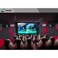 Buy cheap Fun And Exciting Electric 5D Cinema System Solid / Stable Movie Theater Chairs from wholesalers