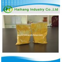 Quality Manufacturer of VitaminB9( Folic acid ) 97%min for hair growth in China for sale
