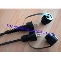 China LC multimode fiber optic cable , optical fiber patch cord For Harsh Environment on sale