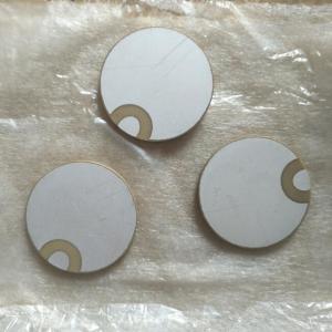 China 30x2MM Piezo Ceramic Plate For Ultrasonic Sensors / Vibration Equipment wholesale