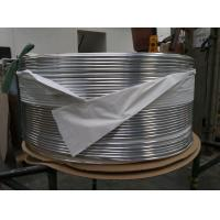 Buy cheap Aluminum tube Alloy 1070 used for  freezer condenser tube from wholesalers