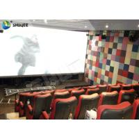China Large Capacity 4DM Motion Chair 4D Movie Theatre With Special Effect Control System wholesale