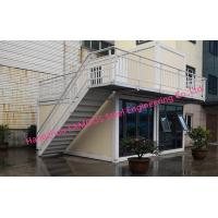 China Multi Floor Prefab Container House 20ft Flat Pack Homes For Family Leisure And Tourism Use on sale