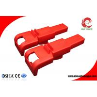China Durable Polypropylene Safety Butterfly Valve Lockout for Valve Handle from 8mm to 45mm on sale