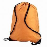 China Promotional Drawstring Bag, Made of Nonwoven or Polyester wholesale