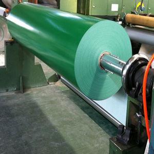 2.0mm green pvc belt two ply