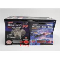 Quality Rhino 69 Blister Card Packaging 9 x 12cm With Glossy Surface Finishing for sale