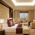 China Five Star Luxury Hotel Bedroom Furniture Sets MDF / Plywood Veneer wholesale