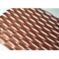 China Paint Treatment 3D Expanded metal Mesh For Decorative Metallic Screen1220x2440mm wholesale