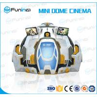 Buy cheap Hypothetical Game VR Simulator With Goggles 298kg Weight Easy Operation from wholesalers