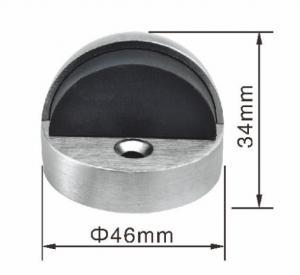 China High Feet Ball Type Zamak Interior Door Stops Half Round Door Stopper wholesale
