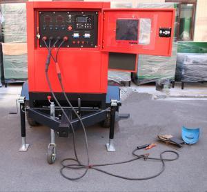 China 75 Volt Welding Machine Genset Diesel Generator Miller 400-500 Amp Engine Driven on sale