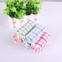 China Kitchen Yarn Dyed Towels Stripes Printed Tea Towels With Colorful Checkered For Dry Pot wholesale