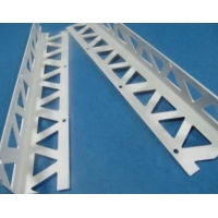 China White color PVC angle bead with high quality fiberglass mesh used for wall corner wholesale