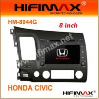 China 8''Car DVD GPS(DVB-T Optional) special for Honda Civic wholesale