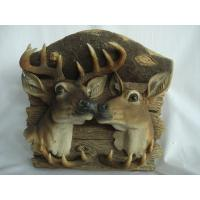 China Natural deer head animal models with angles accept customer design wholesale