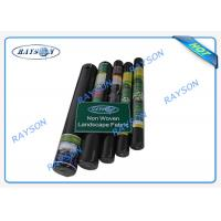 China Biodegradable Heavy Duty Weed Control Fabric in Black Color 1.5OZ 40gsm to 100gsm wholesale