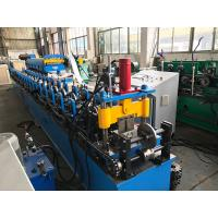 China Cr12 Roller Ceiling Roll Forming Machine Double Head Decoiler 5.5kw wholesale