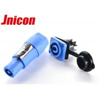 China Outdoor LED Screen Waterproof Power Connector , IP65 Powercon Connector wholesale