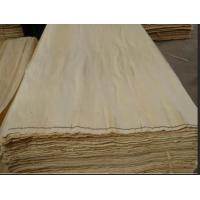 China Baltic White Birch Natural Wood Veneer 2500*1270mm Size With Nice Surface wholesale