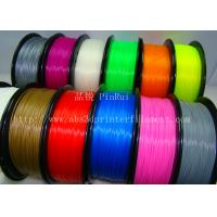 China Red / Pink 3D Pen Filament 100% Virgin 3D Printer Filament Materials wholesale