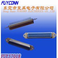 Quality 50 Pin Centronic PCB Straight Female Connector Certified UL for sale