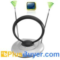 China Indoor TV Antenna for Digital TV, Analog TV, FM Radio on sale