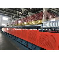 China Roller Continuous Mesh Belt Furnace For Screw Treatment Max 1500 Kg per Hour wholesale