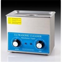 China CE Approval 0.6 Kw Benchtop Ultrasonic Cleaner White Color For Clock Parts wholesale
