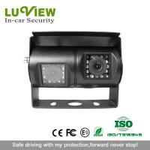 China Luview brand dual lens car camera night vision rear view camera for van wholesale