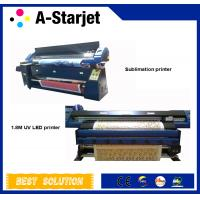 China AC100-220v 1.8m Automatic UV Inkjet Printer For Printing PU And Leather wholesale