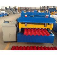 China Steel Step tile making machinery/glazed tile cold rolled forming machine wholesale
