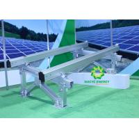 Quality Screw Footing Adjustable Angle Solar Panel Ground Mounting Systems / Solar PV for sale