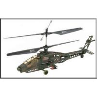 China 3.5 Channel Super Apache RC Electric Military Gyro Helicopter on sale