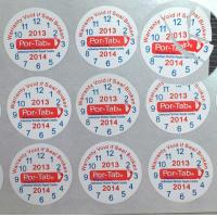 China Special Broken Ultra Tamper Proof Stickers , Irremovable Security Seal Stickers wholesale