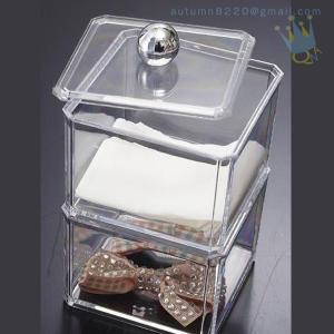 China CB (63) crystal acrylic makeup organizer wholesale