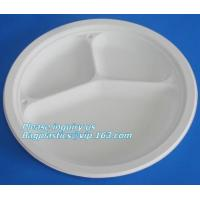 China round eco friendly corn starch plates restaurant disposable plates,Safe product biodegradable salad plate biodegradable wholesale