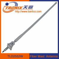 China Marine car antenna/ 1 section flexible rubber mast car antenna/ fiber mast marine car antenna wholesale