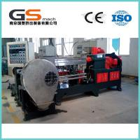China Plastic Film Extruder Machine For PE Cross Linking Cable Material , PVC Extruder Machine  wholesale