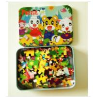 China English Story Puzzle Books For Preschoolers Customized Material wholesale