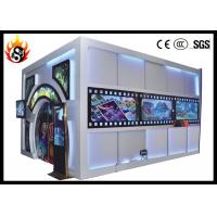 China Beautiful 6D Movie Theater with 19 Inches LCD and Louder Speaker wholesale