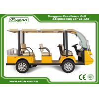 China 72V Trojan Battery Electric Sightseeing Bus on sale