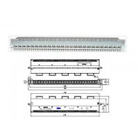 China ZTE 25 Pair Protection Module Main Distribution Frame 19 Inch Sub Rack for POTS / DSL wholesale