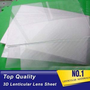 China PLASTICLENTICULAR lenticular sheet philippines 50 lpi 3d lenticular plastic sheet lenses with adhesive backing wholesale