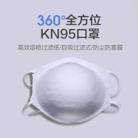 China danjun cup mask white 360-degree surround protection wholesale